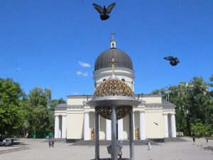 Cu TRENUL la Chisinau!